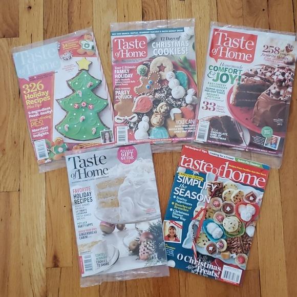 Taste Of Home Kitchen Taste Of Home Christmas Cookbook Magazines Poshmark